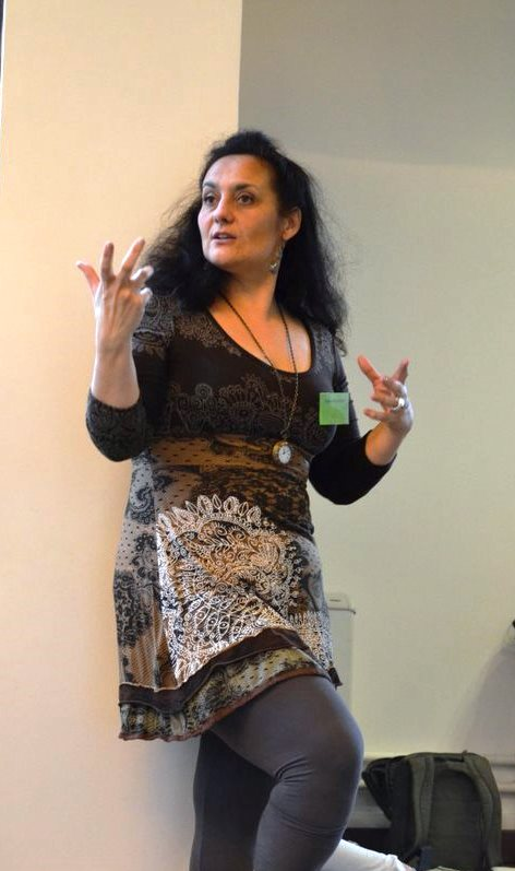 Formation Enseigner le Chant Prénatal - Journées des Doulas 2013 - Virginie Bouffart anime un atelier